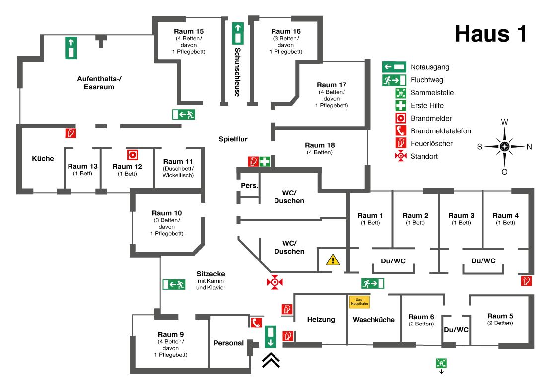 haus 1   haus am paschberg - Feuerlöscher Für Küche